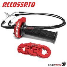 Gas rapido Accossato rosso cavi man APRILIA RSV1000 Factory 04>08 RGR001NAP002