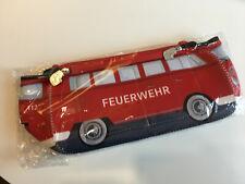Kulturtasche  VW Bulli T1 Feuerwehr Neopren Kulturbeutel 600514901031