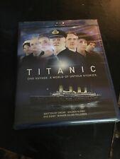 New & Sealed! Titanic Blu-ray Disc, 2012, 2-Disc Set four-part mini-series Tv
