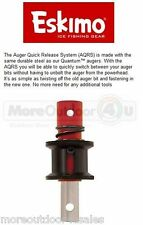 16327 Eskimo Ice Fishing  Augers Quick Release System AQRS SALES MODELS PACKAGE