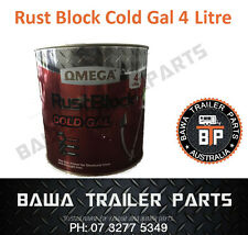Rust Block Cold Gal 4 Litres! Trailer Parts!!