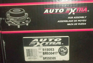 Front Wheel Bearing and Hub Assembly - Auto Extra 515053