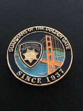California Highway Patrol CHP Guardians of the Golden Gate Challenge Coin