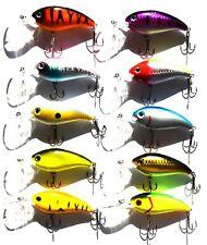 New10 Fishing Lures Bass Crankbaits Hard Swimbait, Wobbler Perch, Pike, Salmon