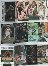 GIANNIS ANTETOKOUNMPO LOT (35) DIFFERENT W/ 17 INSERTS 17-18 SILVER PRIZM #'D