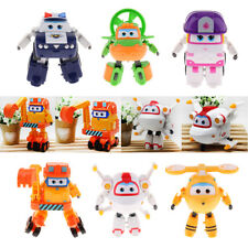 Super Wings Animation Toys Excavator Model Kids Mini Character Toys Gifts