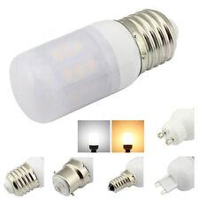 E26 E27 E12 E14 B22 G9 GU10 4W lampes LED Blanc Chaud 12V 24V givré Housse