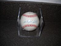 "HOF JIM ""CATFISH"" HUNTER SIGNED AUTOGRAPHED OFFICIAL MLB BASEBALL A'S"
