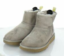 65-43  $190Women's Size 6 UGG Classic Mini II Suede Ankle Boots In Light Gray