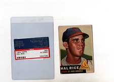 1953 Topps Hal Rice #93 VG+ Altered P272