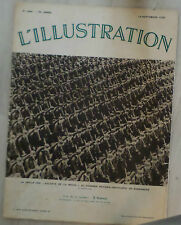 REVUE Ancienne L'ILLUSTRATION N° 4881 19/09/1936 Défilé des Soldats de la Bêche