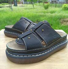 Dr Martens Trevin Sandals Women 8 UK 10 US Men 9 Slide Platform Leather Studded