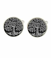 Tree Of Life Mens Cufflinks Ideal Birthday Fathers Day Gift C660