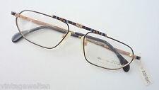 Collection 2000 markante Herrenbrille Brillenfassung sportlichschwarz-gold sizeL