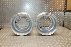 84 / 85 Kawasaki Tecate 3 KXT250 / Kxt 250 Rear Wheels Rim Left Right Wheel Oem