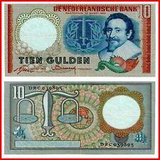 🍀Pick🍀 Niederlande Netherlands 10 Gulden 1953 TOP- Reproduktion 🍀131345🍀