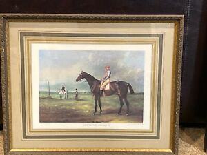 """John Ferneley Antique Print 17X21"""" """"Gayhurst With Connelly Up"""" Jockey Horse Race"""