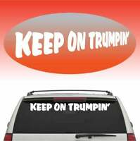 """Trump Country Cool Fun Windshield Banner Auto Car Truck Decal 40/"""""""