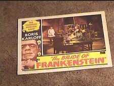 BRIDE OF FRANKENSTEIN R53 LOBBY CARD #2 BORIS KARLOFF UNIVERSAL HORROR GREAT