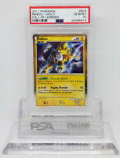 Pokemon CALL OF LEGENDS RAIKOU SL9 HOLO FOIL PSA 10 GEM MINT #28384674
