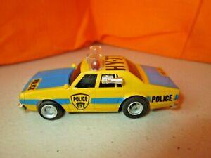 Vintage Aurora AFX Caprice Police Car HY-71 w/AFX Lighted Chassis HO Slot Car