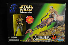 Leia with Speeder Bike Star Wars Power of the Force - Kenner (1997) WH
