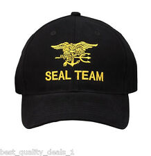 SEAL TEAM with Trident, Ball Cap-Authentic!  Officially licensed!