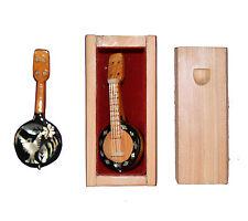 Miniature Banjo from Mazatlan, Mexico