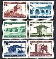 Bulgaria 1966 castles/Bridges/Monuments/Buildings/Architecture/Tourism 6v n37802