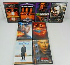 Lot of 8 Nicolas Cage (Dvd, 8-Discs) Next Knowing Season Witch Snake Eyes 8Mm