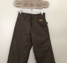 Youth Burton Brown Ski Snowboard Pants sz Large Girls Boys Waterproof