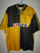#10 BSC YOUNG BOYS 1996-97 HOME SHIRT ADIDAS JERSEY SIZE L
