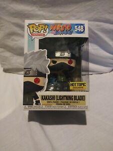 Funko Pop! Naruto Kakashi (Lightning Blade) #548 Hot Topic Exclusive W/Protector