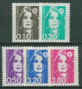 Frankreich 1990 Freimarke Marianne Briat 2764/68 postfrisch
