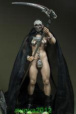 "Custom 1/6 Male Black Cloak Grim Reaper Clothes Suits F/12"" Man Phicen Body M33"