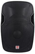 """Rockville SPGN158 15"""" Passive 1600W DJ PA Speaker ABS Lightweight Cabinet 8 Ohm"""