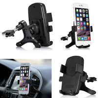 360° Car Air Auto Vent Mount Cradle Holder Stand For iPhone Samsung Mobile Phone