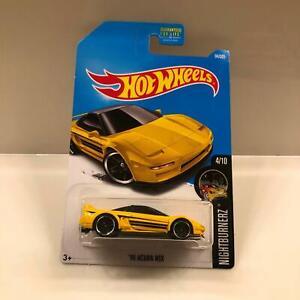Hot Wheels Nightburnerz: '90 Acura NSX - yellow (4/10) CL22