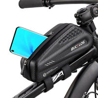 BUCKLOS Bike Waterproof Bag Cycling Top Front Tube Frame Bag Large Capacity