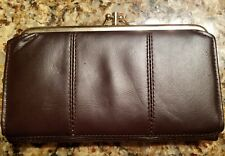 FRENCH PURSE LADIES WALLET CHANGE PURSE  COWHIDE LEATHER
