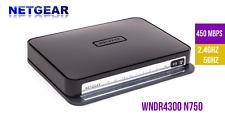 Netgear N750 WiFi Dual Band Router Model WNDR4300v2 wireless