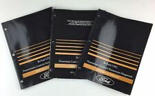 2001 2004 Ford Bi Fuel LPG CNG Powertrain Emissions Service Manual Lot Of 3