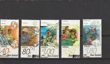 New Zealand 1996 Rescue Services Set CTO