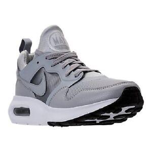 876068-002 Nike Air Max Prime Running Shoes Wolf Grey/White Sizes 8-12 NIB