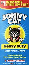 New listing Jonny Cat Heavy Duty Litter Box Liners, Jumbo, 5 Liners-Box