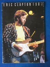 More details for eric clapton - concert tour programme - 1987 - 28 pages