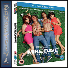 MIKE AND DAVE NEED WEDDING DATES *BRAND NEW BLU-RAY**