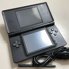 """Consola Nintendo DS Lite onyx Black negro + Charger + Fully Functional """"2"""