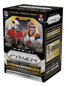 2020 Panini Prizm Football Blaster Box NFL Lazer Prizm Walmart Brand New Sealed