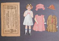1940's Holsum Bread Dressing Dolls Army